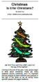 Fam16 Should Christians celebrate Christmas?