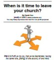 Ch43 Cox When To Leave Your Church  V1